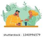 vector cartoon illustration of... | Shutterstock .eps vector #1340996579