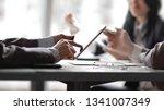 close up.business team... | Shutterstock . vector #1341007349