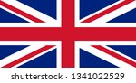 flag of great britain. british... | Shutterstock .eps vector #1341022529