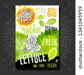 food labels stickers set... | Shutterstock .eps vector #1341045959