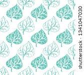 vector seamless floral grunge... | Shutterstock .eps vector #1341047030