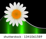 abstract flower background with ... | Shutterstock .eps vector #1341061589