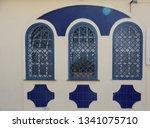 facades  city views in... | Shutterstock . vector #1341075710