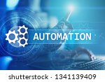 business and manufacturing...   Shutterstock . vector #1341139409