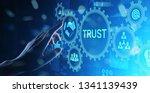 trust customer relations...   Shutterstock . vector #1341139439