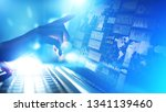 business intelligence dashboard ... | Shutterstock . vector #1341139460