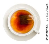 Cup Of Tea  Isolated On White...