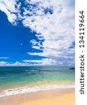 windy holiday divine coastline   Shutterstock . vector #134119664