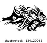 abstraction thing isolated on...   Shutterstock . vector #134120066
