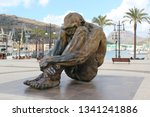 el zulo statue dedicated to the ...   Shutterstock . vector #1341241886