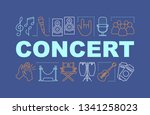 concert word concepts banner....