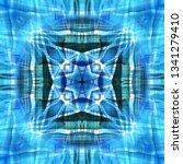 light mandala. symmetry and... | Shutterstock . vector #1341279410