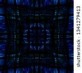 light mandala. symmetry and... | Shutterstock . vector #1341279413