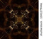light mandala. symmetry and... | Shutterstock . vector #1341279446