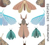 vector seamless pattern... | Shutterstock .eps vector #1341291953