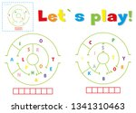 play and write the words... | Shutterstock . vector #1341310463
