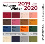 fashion color trend autumn...