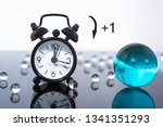 daylight saving time. dst. turn ... | Shutterstock . vector #1341351293