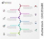 infographic design template....   Shutterstock .eps vector #1341351680