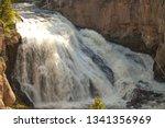 Gibbon Falls Waterfall On...