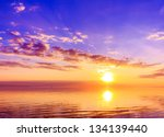 rising atmosphere panorama | Shutterstock . vector #134139440