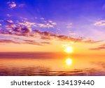 rising atmosphere panorama | Shutterstock . vector #134139440