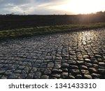 sundown with street | Shutterstock . vector #1341433310