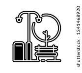 gardens  green  park  icon....   Shutterstock .eps vector #1341468920