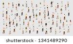 the large set of businessmen... | Shutterstock .eps vector #1341489290