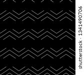 seamless pattern. zigzag lines  ... | Shutterstock .eps vector #1341490706
