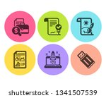 approved agreement  report... | Shutterstock .eps vector #1341507539