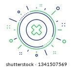 delete line icon. remove sign....   Shutterstock .eps vector #1341507569