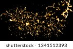 close up for abstract  rotating ... | Shutterstock . vector #1341512393