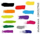 blots for design  vector... | Shutterstock .eps vector #1341527963