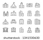 set of buiding icons  such as... | Shutterstock .eps vector #1341530630