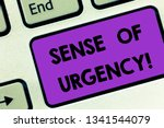 writing note showing sense of... | Shutterstock . vector #1341544079