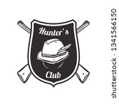 hunting club labels  badges ...   Shutterstock .eps vector #1341566150