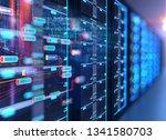 3d illustration of server...   Shutterstock . vector #1341580703