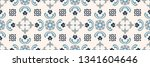 talavera pattern.  indian...   Shutterstock .eps vector #1341604646