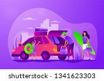 family vacations  all ages... | Shutterstock .eps vector #1341623303