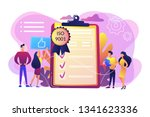 tiny business people like... | Shutterstock .eps vector #1341623336