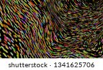 colourful simple abstract... | Shutterstock .eps vector #1341625706