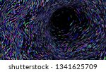 colourful simple abstract... | Shutterstock .eps vector #1341625709