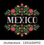mexico illustration vector.... | Shutterstock .eps vector #1341636953