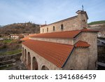 the holy forty martyrs church... | Shutterstock . vector #1341686459