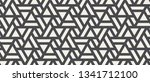 vector seamless pattern with... | Shutterstock .eps vector #1341712100