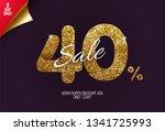 shine golden sale 40  off  made ...   Shutterstock .eps vector #1341725993