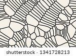 vector seamless pattern. modern ... | Shutterstock .eps vector #1341728213