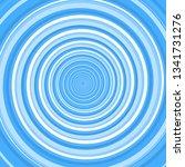 blue twirl spiral. abstract... | Shutterstock . vector #1341731276