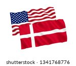 national fabric flags of... | Shutterstock . vector #1341768776